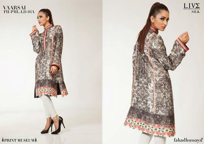 Luxury Pre Fall Winter Pret Formal Dresses Collection for women by Fahad Husayn 2014-2015 (12)