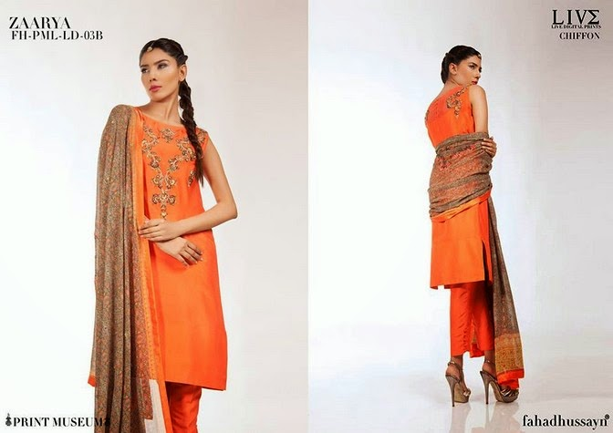 Luxury Pre Fall Winter Pret Formal Dresses Collection for women by Fahad Husayn 2014-2015 (15)