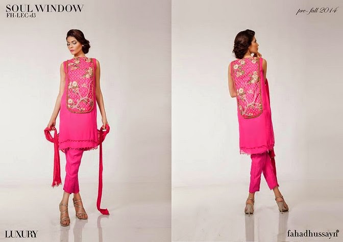 Luxury Pre Fall Winter Pret Formal Dresses Collection for women by Fahad Husayn 2014-2015 (3)