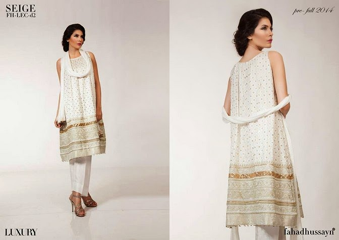 Luxury Pre Fall Winter Pret Formal Dresses Collection for women by Fahad Husayn 2014-2015 (7)