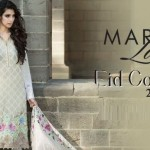 Latest Maria B Lawn Eid Dress Collection for Women 2014-2015