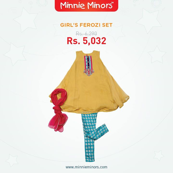 Minnie Minors Spring Summer Kids Wear Formal and Casual Dresses Eid Collection For Children 2014-2015 (10)