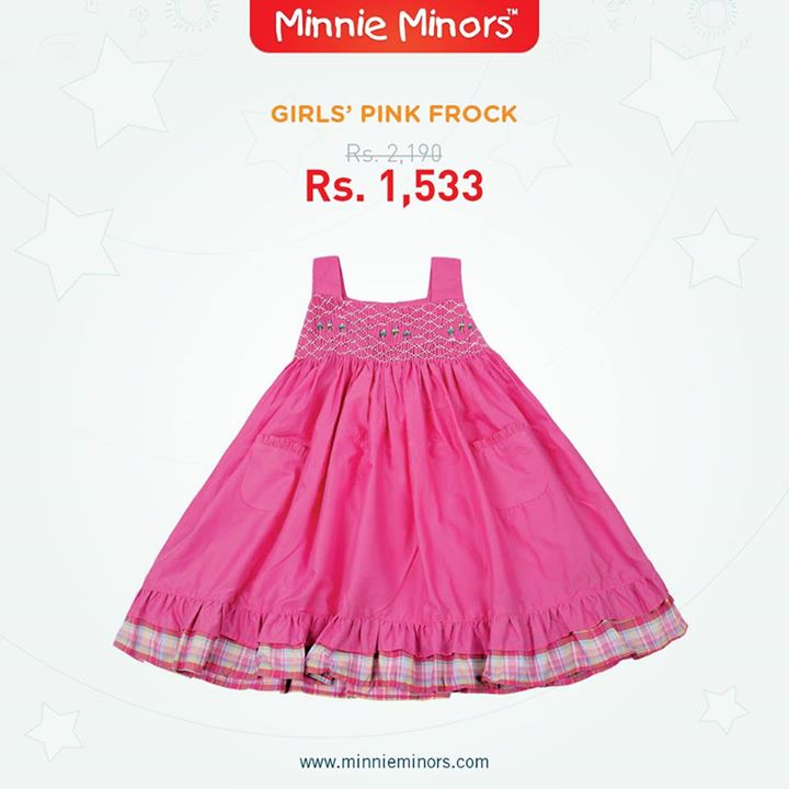 Minnie Minors Spring Summer Kids Wear Formal and Casual Dresses Eid Collection For Children 2014-2015 (11)