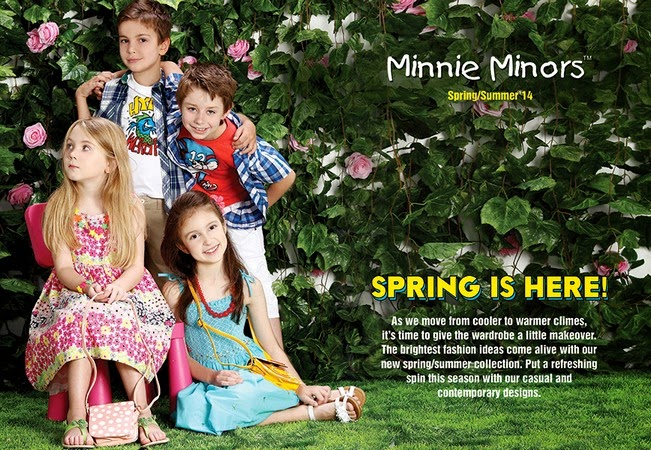 Minnie Minors Spring Summer Kids Wear Formal and Casual Dresses Eid Collection For Children 2014-2015 (16)