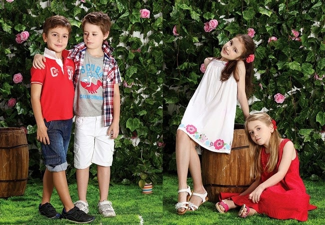 Minnie Minors Spring Summer Kids Wear Formal and Casual Dresses Eid Collection For Children 2014-2015 (17)