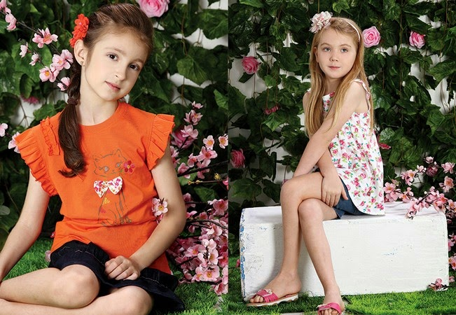 Minnie Minors Spring Summer Kids Wear Formal and Casual Dresses Eid Collection For Children 2014-2015 (19)