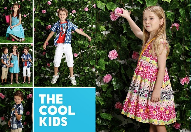 Minnie Minors Spring Summer Kids Wear Formal and Casual Dresses Eid Collection For Children 2014-2015 (20)