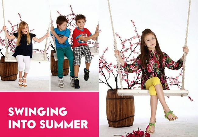 Minnie Minors Spring Summer Kids Wear Formal and Casual Dresses Eid Collection For Children 2014-2015 (22)