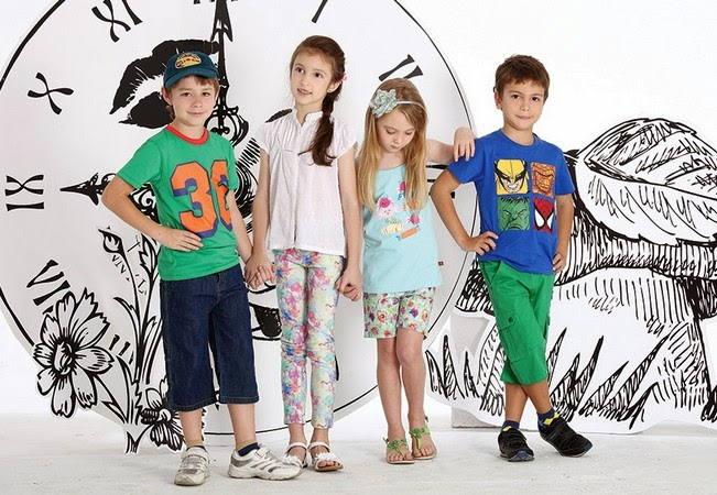 Minnie Minors Spring Summer Kids Wear Formal and Casual Dresses Eid Collection For Children 2014-2015 (27)