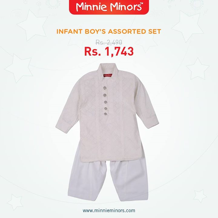 Minnie Minors Spring Summer Kids Wear Formal and Casual Dresses Eid Collection For Children 2014-2015 (3)