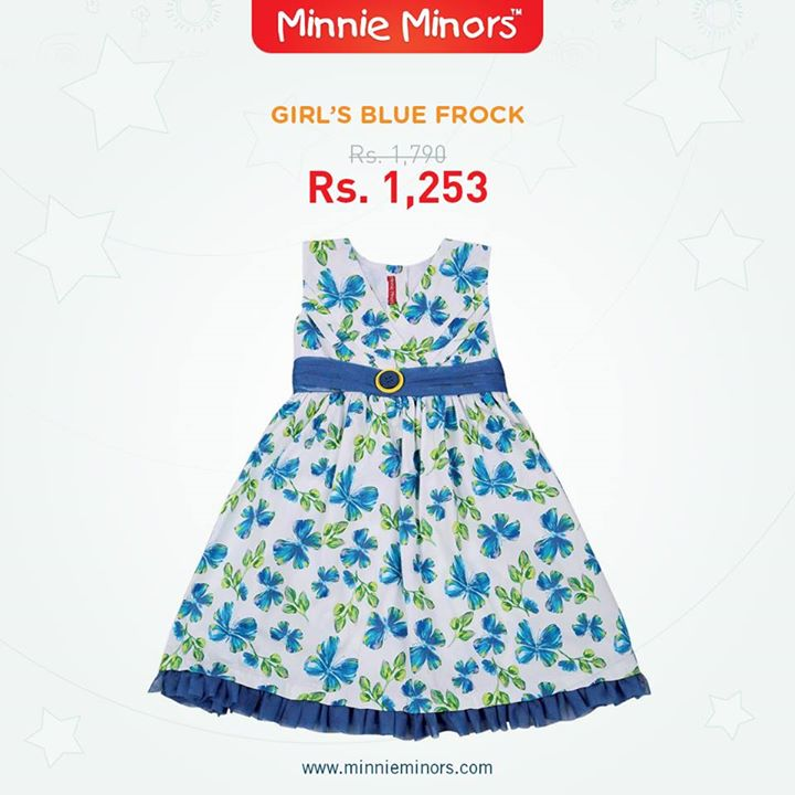 Minnie Minors Spring Summer Kids Wear Formal and Casual Dresses Eid Collection For Children 2014-2015 (5)
