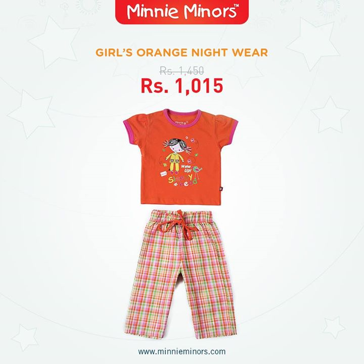 Minnie Minors Spring Summer Kids Wear Formal and Casual Dresses Eid Collection For Children 2014-2015 (8)