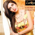 Zarqash Latest Collection of Luxury Silk Modern Dresses For Eid and Festivals 2014-2015