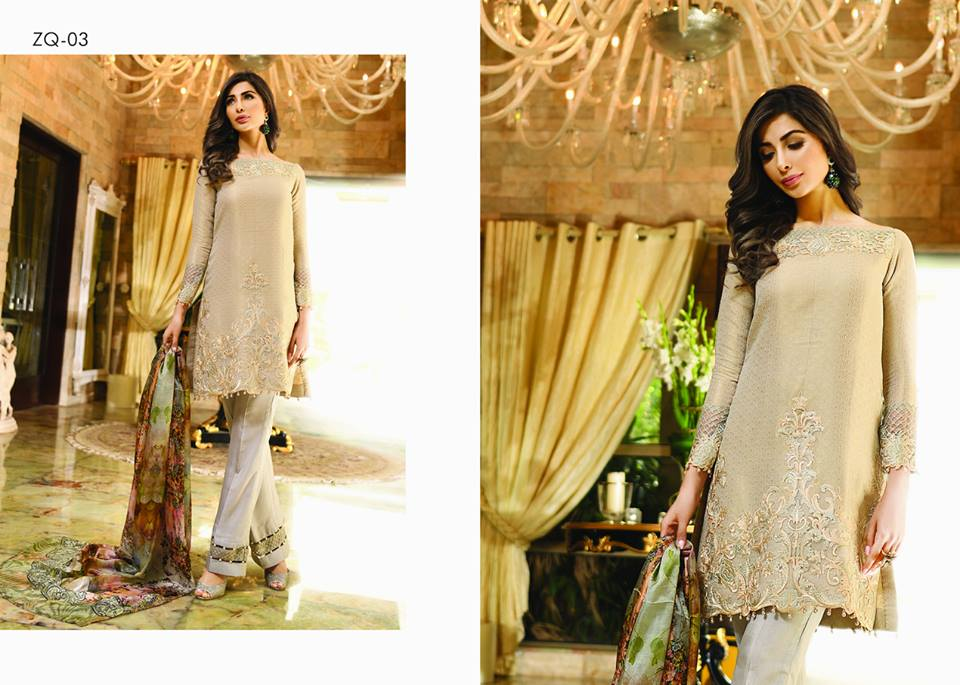 Zarqash Luxury Chiffon Suits Dreamy Desires Eid Collection 2016-2017 (11)