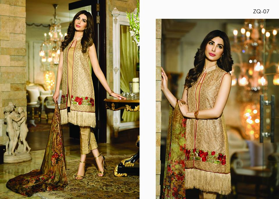 Zarqash Luxury Chiffon Suits Dreamy Desires Eid Collection 2016-2017 (12)