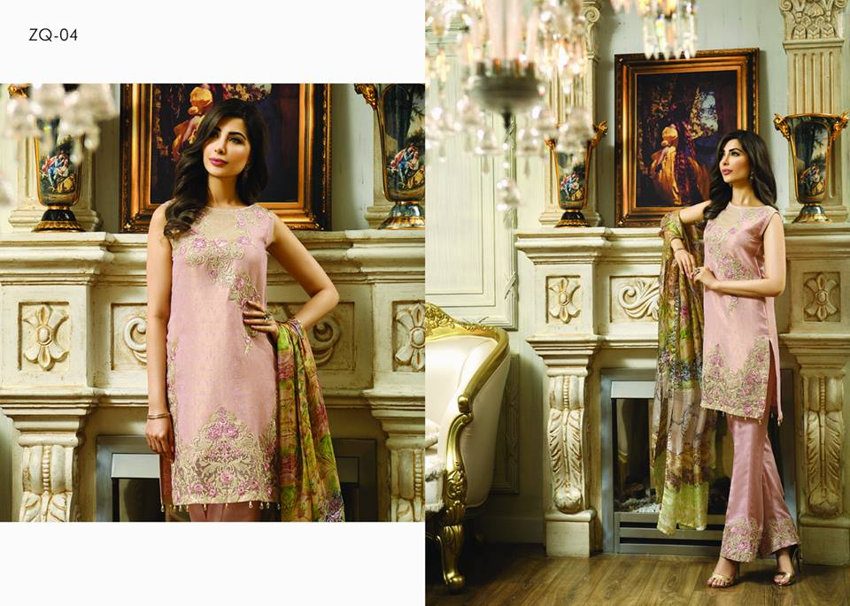 Zarqash Luxury Chiffon Suits Dreamy Desires Eid Collection 2016-2017 (13)