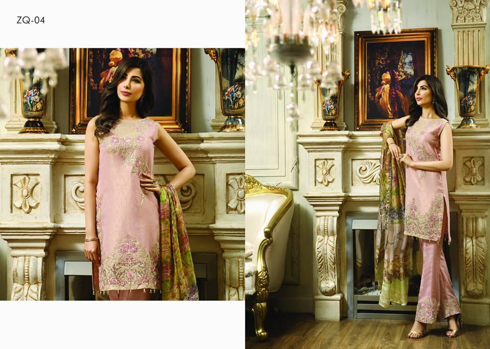 Zarqash Luxury Chiffon Suits Dreamy Desires Eid Collection 2016-2017 (13)