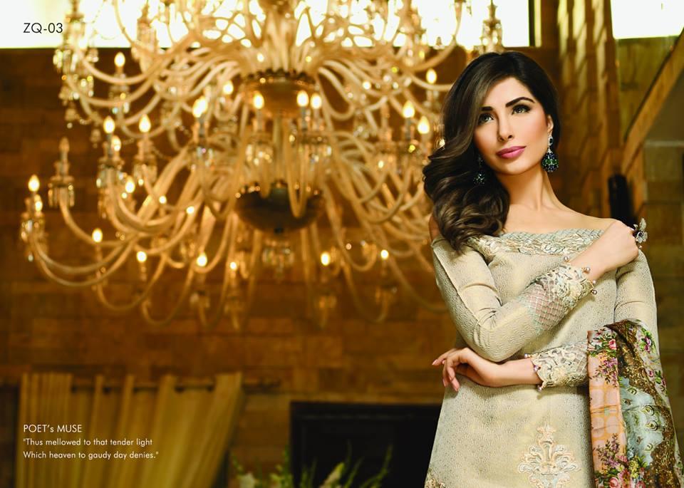 Zarqash Luxury Chiffon Suits Dreamy Desires Eid Collection 2016-2017 (14)