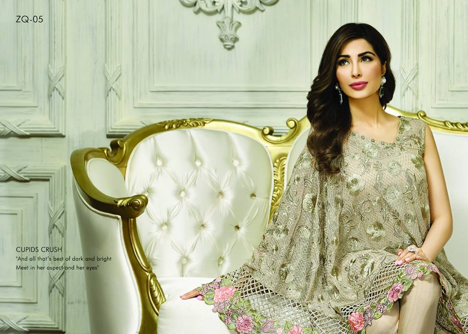 Zarqash Luxury Chiffon Suits Dreamy Desires Eid Collection 2016-2017 (15)