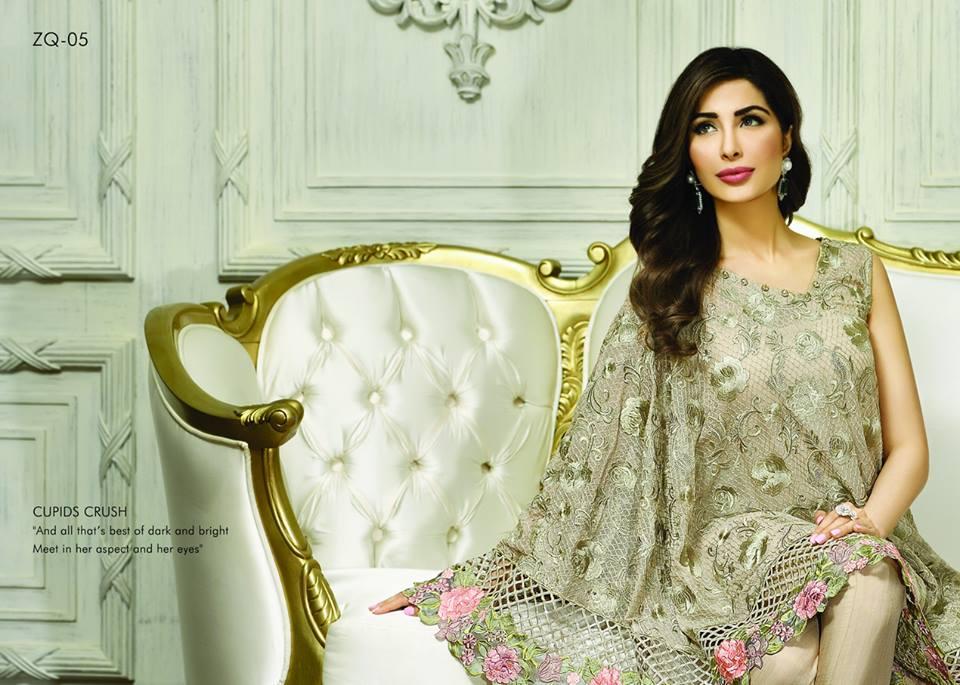 Zarqash Luxury Chiffon Suits Dreamy Desires Eid Collection 2016-2017 (15)