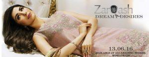 Zarqash Luxury Chiffon Suits Eid Collection 2016 Dreamy Desires