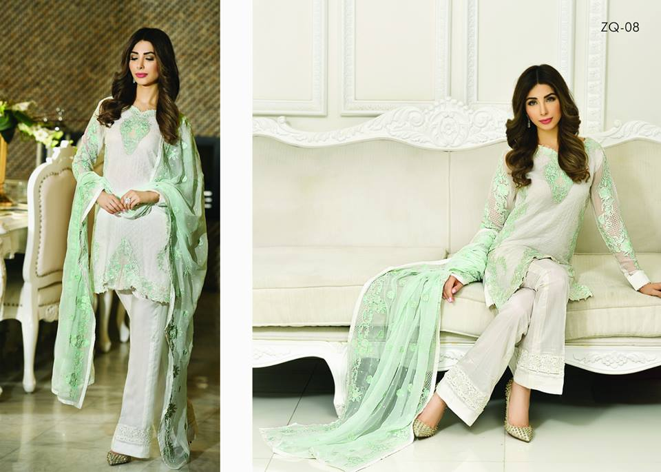 Zarqash Luxury Chiffon Suits Dreamy Desires Eid Collection 2016-2017 (17)