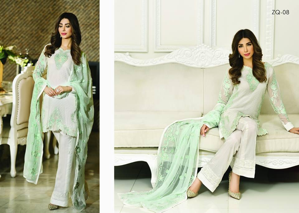 Zarqash Luxury Chiffon Suits Dreamy Desires Eid Collection 2016-2017 (17)