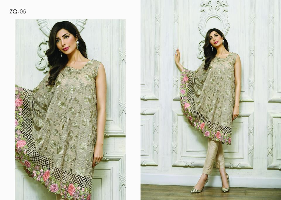 Zarqash Luxury Chiffon Suits Dreamy Desires Eid Collection 2016-2017 (2)