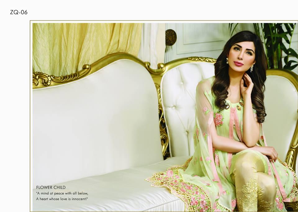 Zarqash Luxury Chiffon Suits Dreamy Desires Eid Collection 2016-2017 (3)