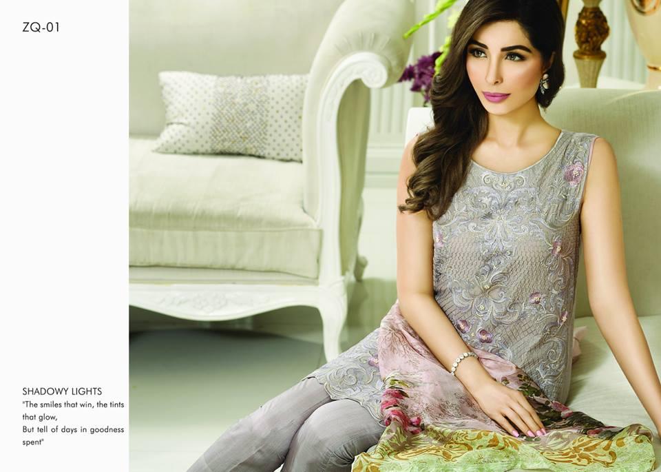 Zarqash Luxury Chiffon Suits Dreamy Desires Eid Collection 2016-2017 (4)