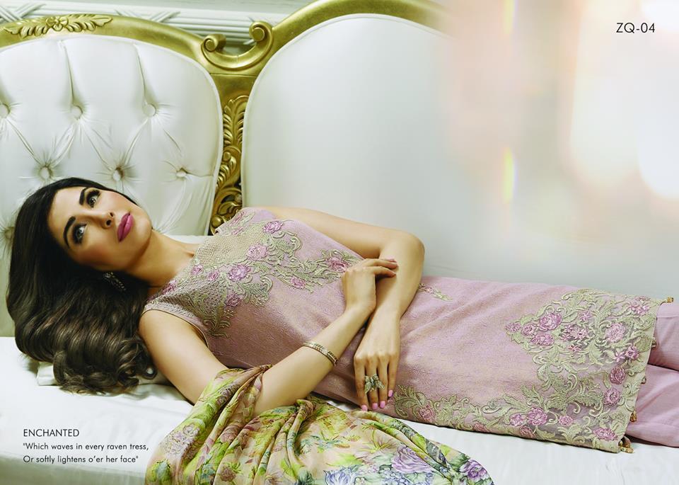Zarqash Luxury Chiffon Suits Dreamy Desires Eid Collection 2016-2017 (5)