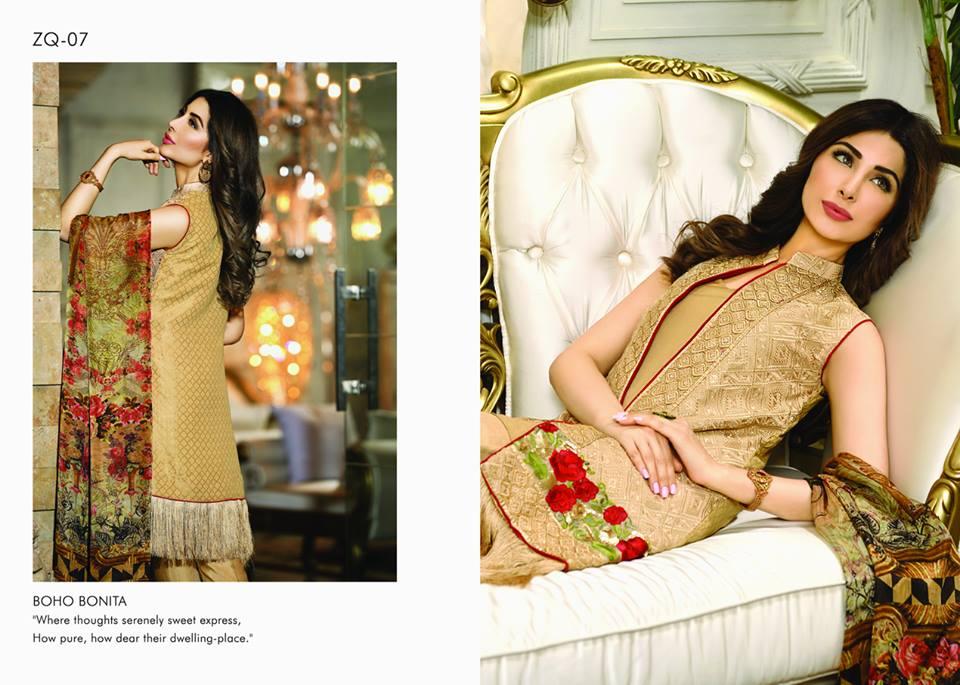 Zarqash Luxury Chiffon Suits Dreamy Desires Eid Collection 2016-2017 (9)