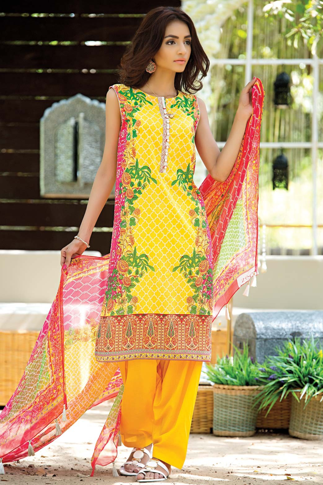 Zeen Embroidered Eid Luxurious Collection 2016-2017 for Women (7)