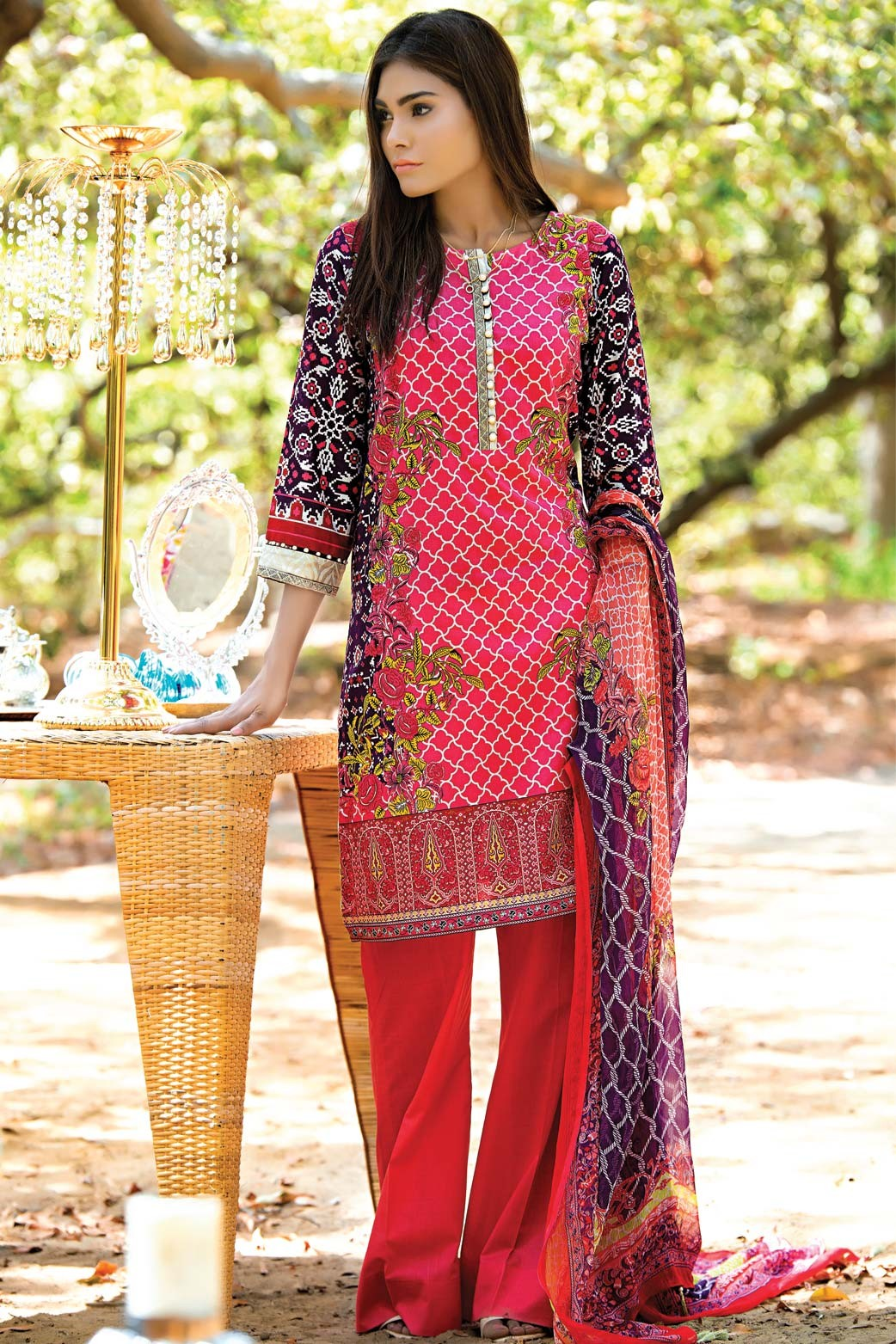 Zeen Embroidered Eid Luxurious Collection 2016-2017 for Women (8)