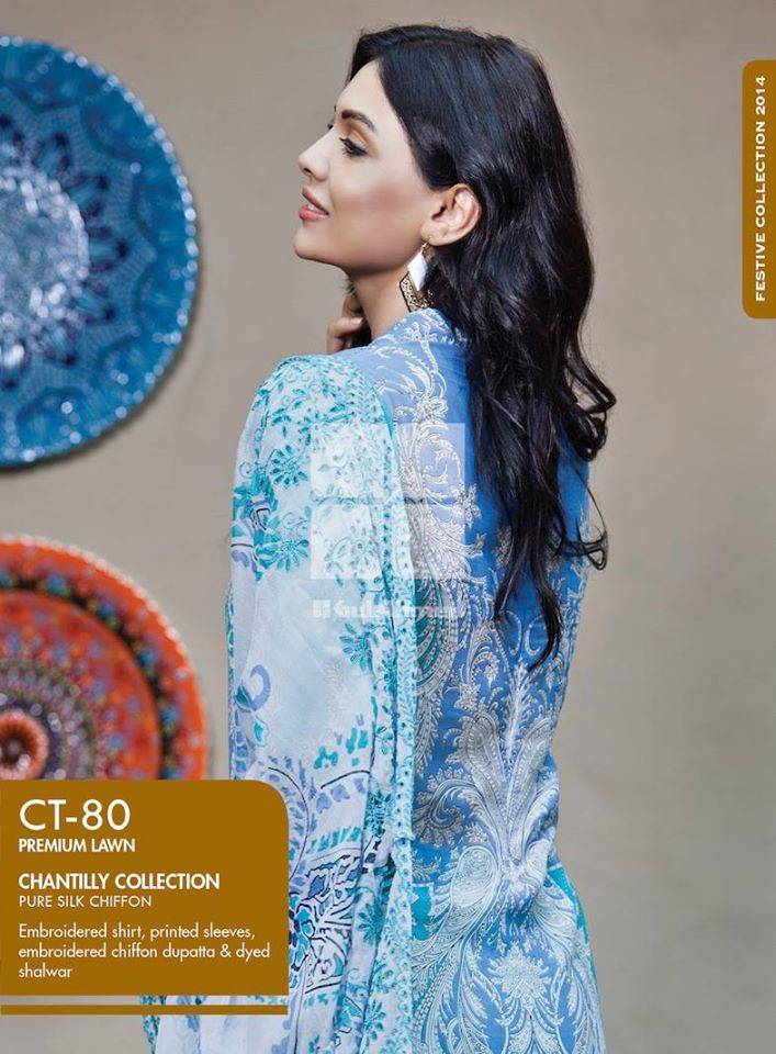 Women Latest Collection of Formal Wear Fancy * Embroidered Festive Dresses By Gul Ahmed (10)