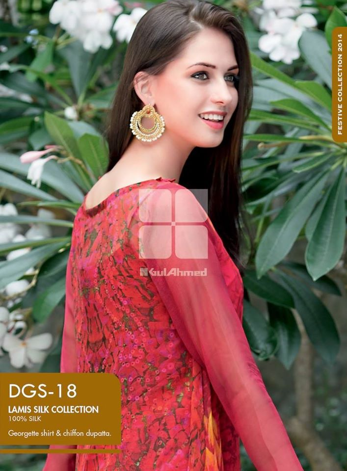Women Latest Collection of Formal Wear Fancy * Embroidered Festive Dresses By Gul Ahmed  (3)