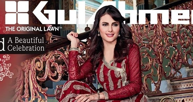 Women Latest Collection of Formal Wear Fancy * Embroidered Festive Dresses By Gul Ahmed (34)