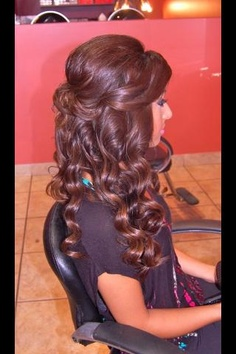 Enjoyable Cool Hairstyle 2014 Curly Hairstyles For Prom Half Up Half Down Twist Short Hairstyles Gunalazisus