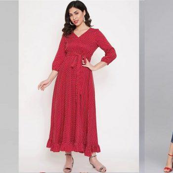 Latest Fashion Stylish Ladies Maxi Dresses 2021 Collection