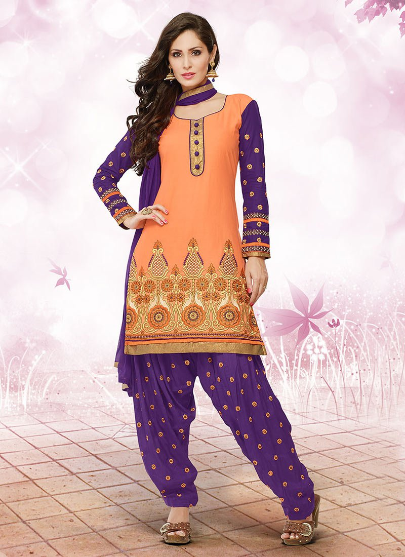 Latest Fashion of Designer Punjabi Dresses & Patiala Salwar Kameez Suits for Women (1)