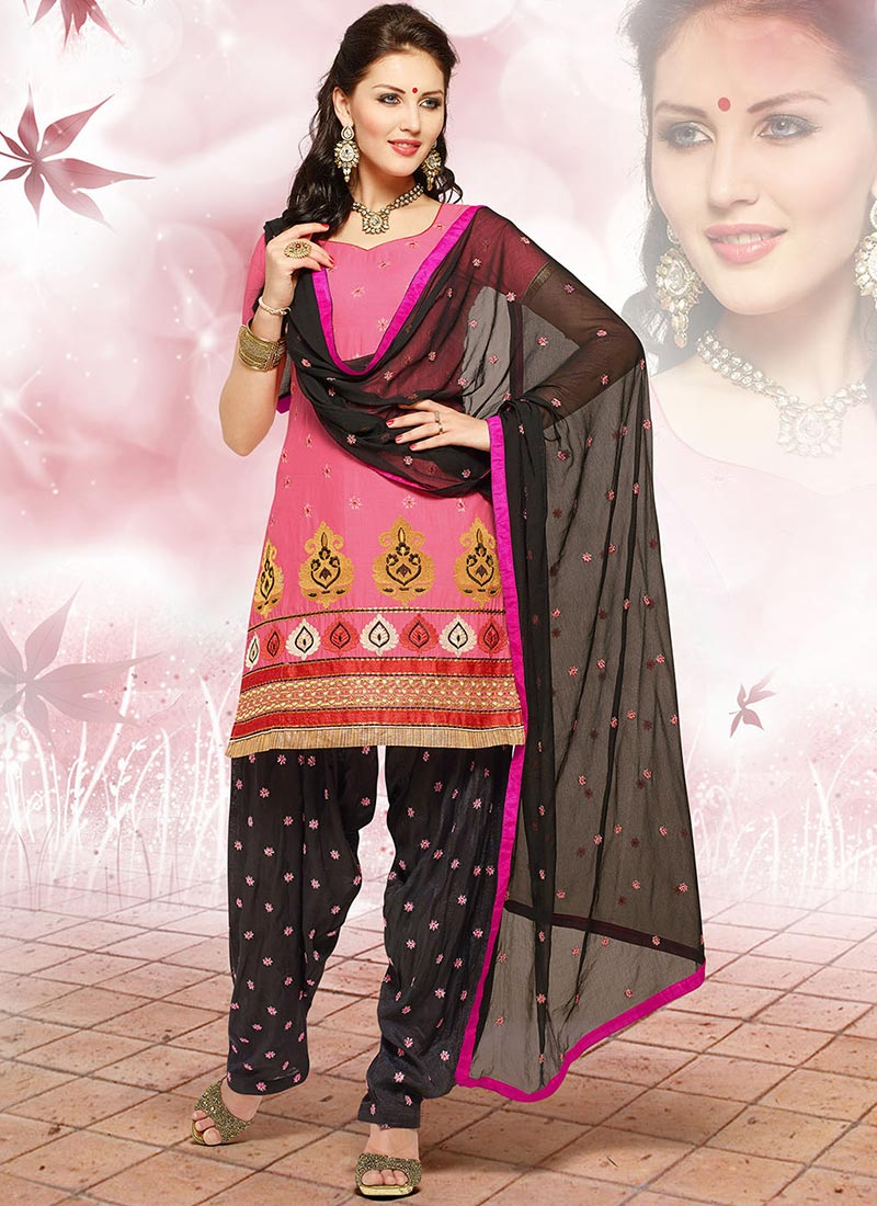 Latest Fashion of Designer Punjabi Dresses & Patiala Salwar Kameez Suits for Women (13)