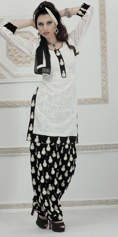 Latest Fashion of Designer Punjabi Dresses & Patiala Salwar Kameez Suits for Women@stylesgap (10)