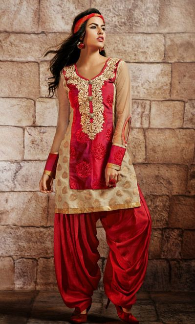 Latest Fashion of Designer Punjabi Dresses & Patiala Salwar Kameez Suits for Women@stylesgap (2)