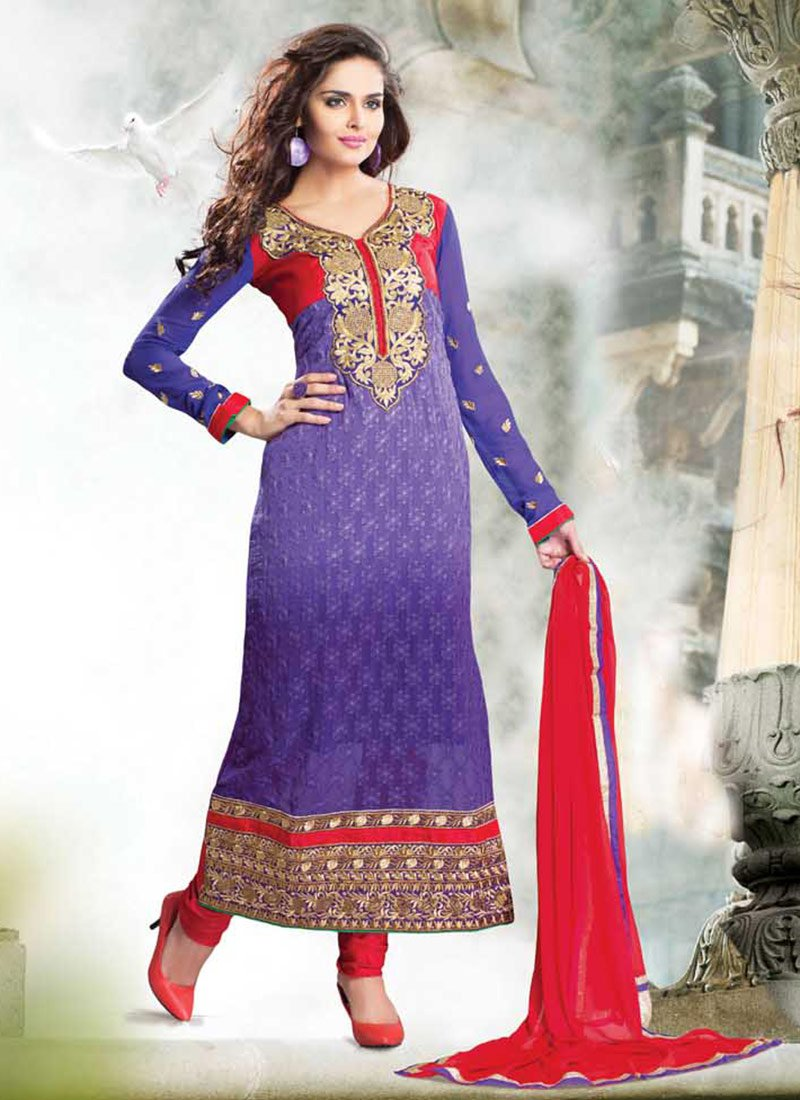 Latest Indian Ethnic Wear Dresses & Stylish Suits Formal Collection for Women  (14)