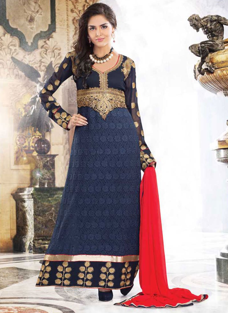 Latest Indian Ethnic Wear Dresses & Stylish Suits Formal Collection for Women  (16)
