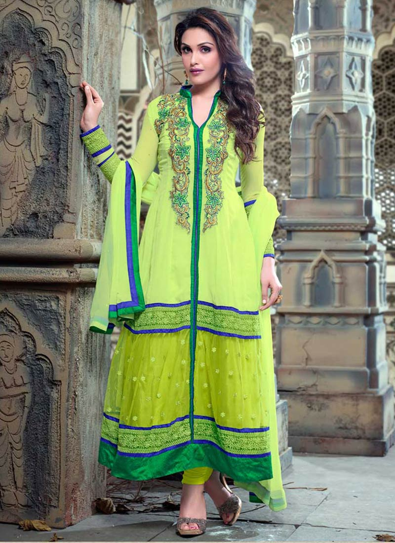 Latest Indian Ethnic Wear Dresses & Stylish Suits Formal Collection for Women  (17)