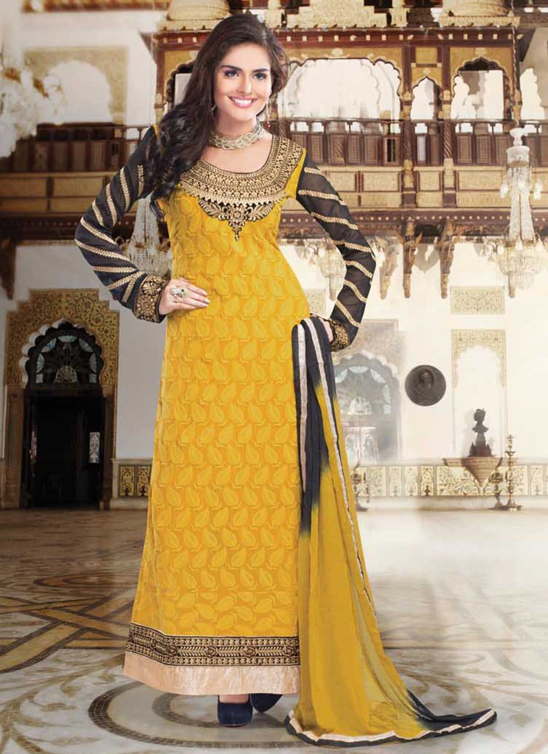 Latest Indian Ethnic Wear Dresses & Stylish Suits Formal Collection for Women (18)