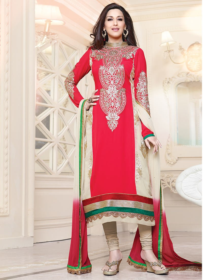 Latest Indian Ethnic Wear Dresses & Stylish Suits Formal Collection for Women  (2)