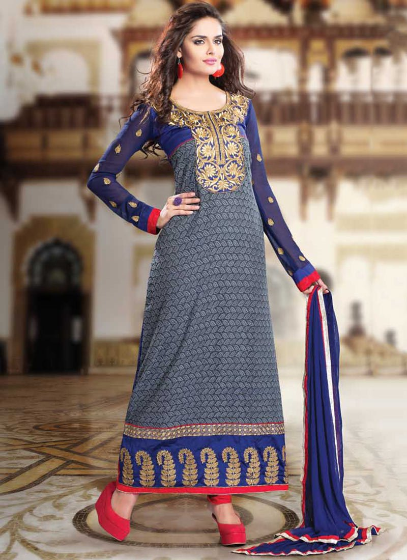 Latest Indian Ethnic Wear Dresses & Stylish Suits Formal Collection for Women (21)