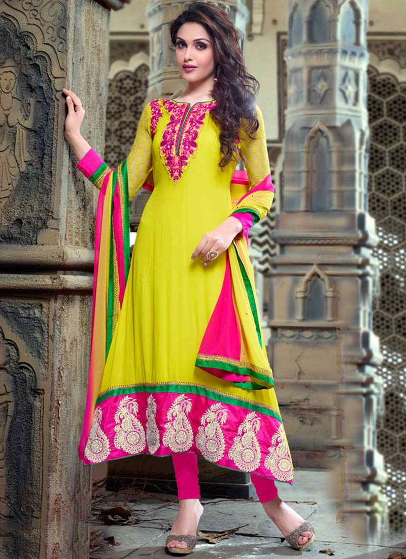 Latest Indian Ethnic Wear Dresses & Stylish Suits Formal Collection for Women (23)